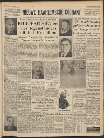 Nieuwe Haarlemsche Courant 1957-07-04