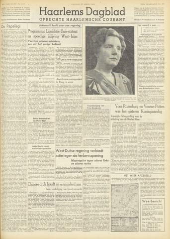 Haarlem's Dagblad 1951-04-27