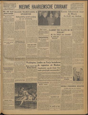 Nieuwe Haarlemsche Courant 1948-08-04