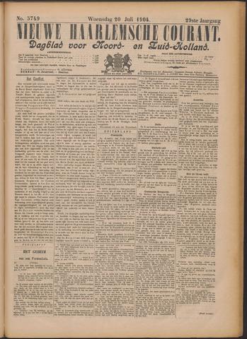 Nieuwe Haarlemsche Courant 1904-07-20