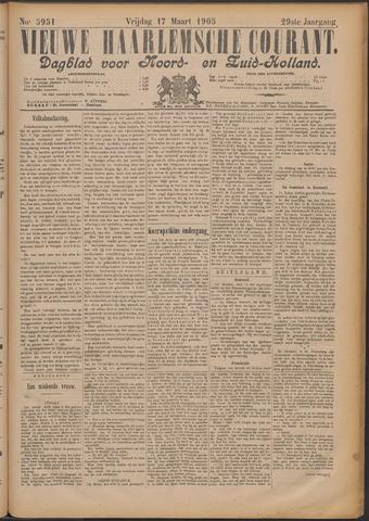 Nieuwe Haarlemsche Courant 1905-03-17