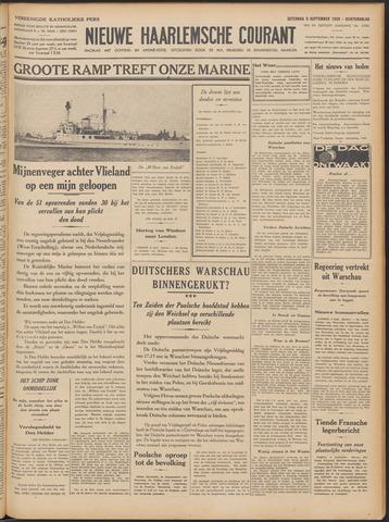 Nieuwe Haarlemsche Courant 1939-09-09