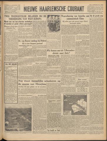 Nieuwe Haarlemsche Courant 1949-08-06
