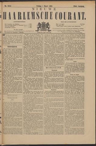 Nieuwe Haarlemsche Courant 1895-03-01
