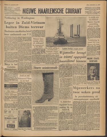 Nieuwe Haarlemsche Courant 1963-08-27