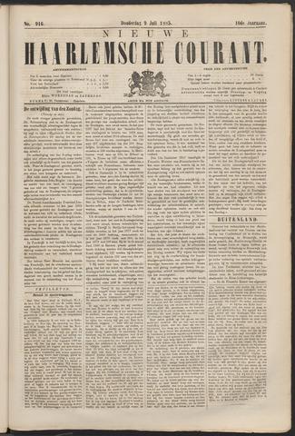 Nieuwe Haarlemsche Courant 1885-07-09