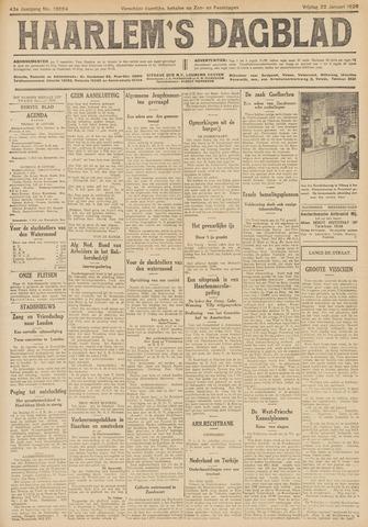 Haarlem's Dagblad 1926-01-22