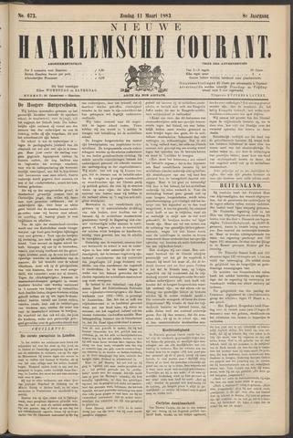 Nieuwe Haarlemsche Courant 1883-03-11