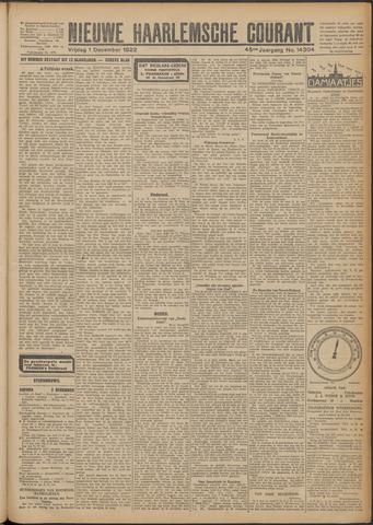 Nieuwe Haarlemsche Courant 1922-12-01