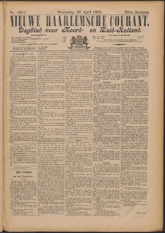 Nieuwe Haarlemsche Courant 1904-04-20