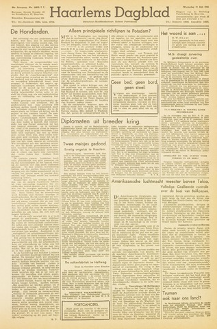 Haarlem's Dagblad 1945-07-11