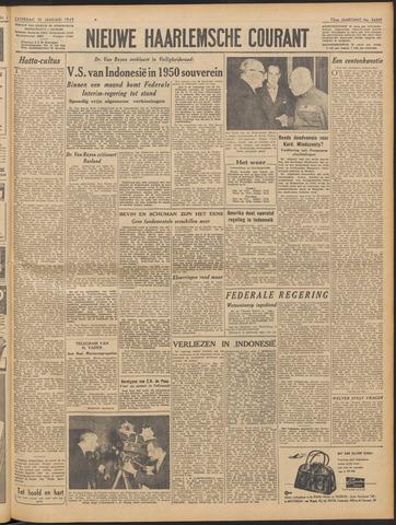 Nieuwe Haarlemsche Courant 1949-01-15