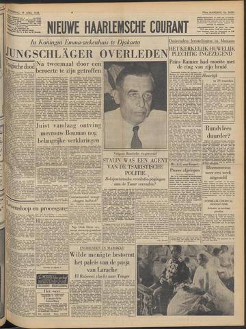 Nieuwe Haarlemsche Courant 1956-04-19
