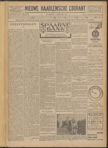 Nieuwe Haarlemsche Courant 1930-02-01