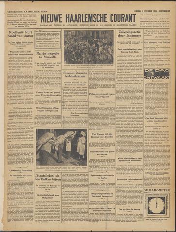 Nieuwe Haarlemsche Courant 1938-11-01