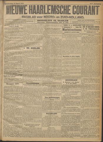 Nieuwe Haarlemsche Courant 1916-04-27