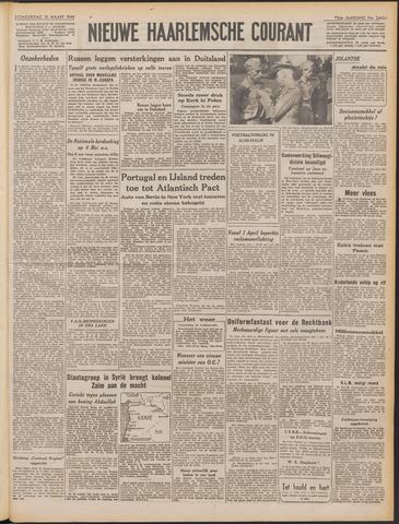 Nieuwe Haarlemsche Courant 1949-03-31