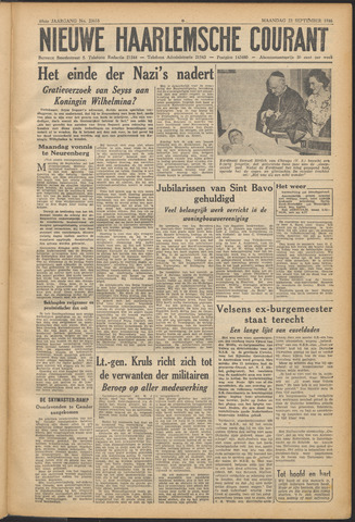 Nieuwe Haarlemsche Courant 1946-09-23