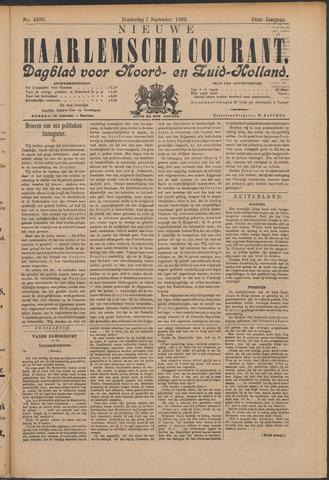 Nieuwe Haarlemsche Courant 1899-09-07