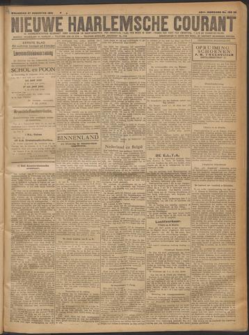 Nieuwe Haarlemsche Courant 1919-08-27