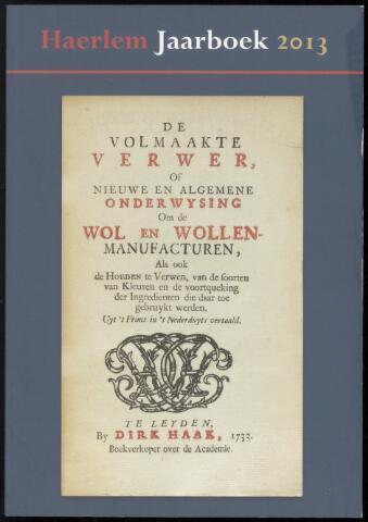 Jaarverslagen en Jaarboeken Vereniging Haerlem 2013