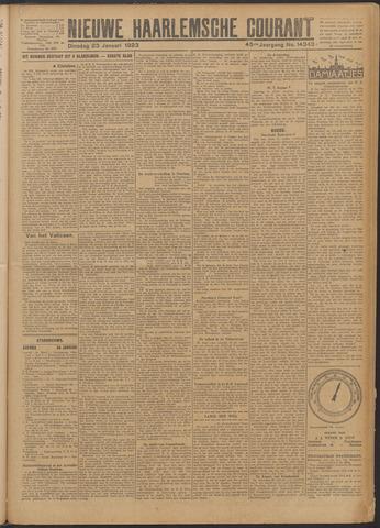 Nieuwe Haarlemsche Courant 1923-01-23