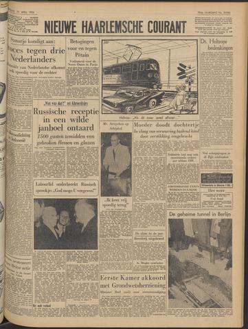 Nieuwe Haarlemsche Courant 1956-04-25