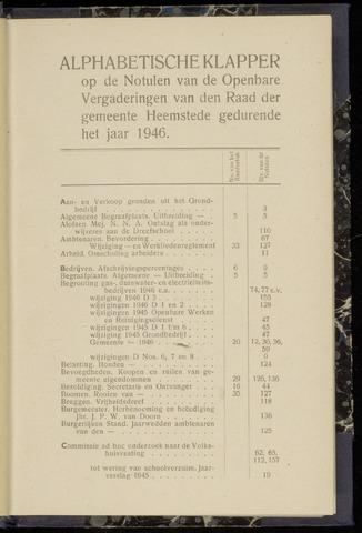 Raadsnotulen Heemstede 1946