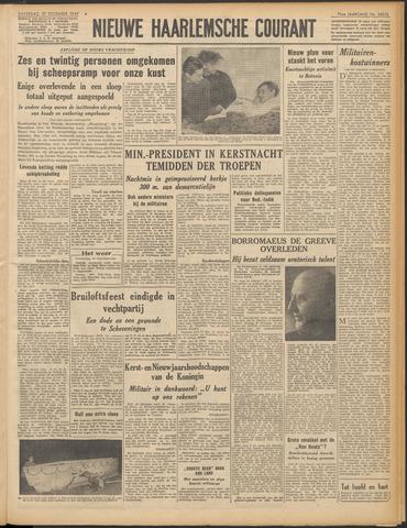 Nieuwe Haarlemsche Courant 1947-12-27