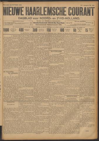 Nieuwe Haarlemsche Courant 1908-10-26