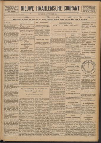 Nieuwe Haarlemsche Courant 1930-10-21