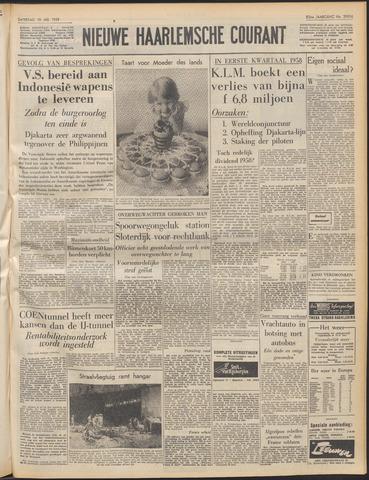 Nieuwe Haarlemsche Courant 1958-05-10