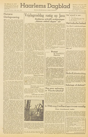 Haarlem's Dagblad 1945-11-03
