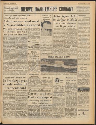 Nieuwe Haarlemsche Courant 1962-09-22