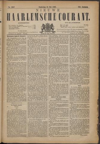Nieuwe Haarlemsche Courant 1893-05-25