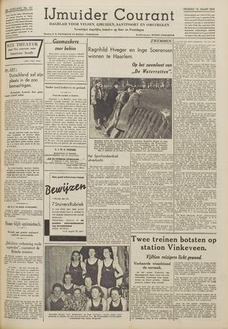 IJmuider Courant 1939-03-14