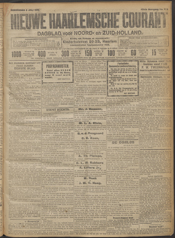 Nieuwe Haarlemsche Courant 1915-07-08