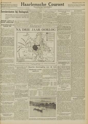 Haarlemsche Courant 1942-09-08