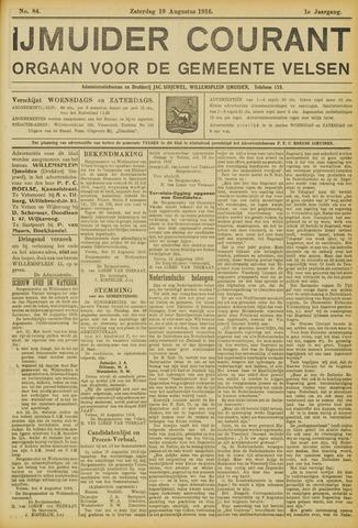 IJmuider Courant 1916-08-19