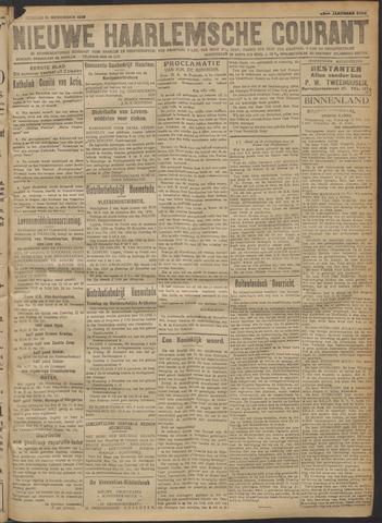 Nieuwe Haarlemsche Courant 1918-11-21