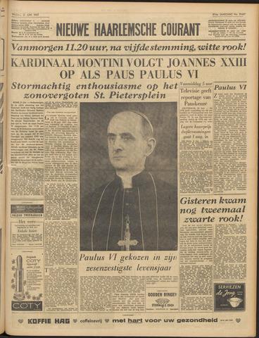 Nieuwe Haarlemsche Courant 1963-06-21