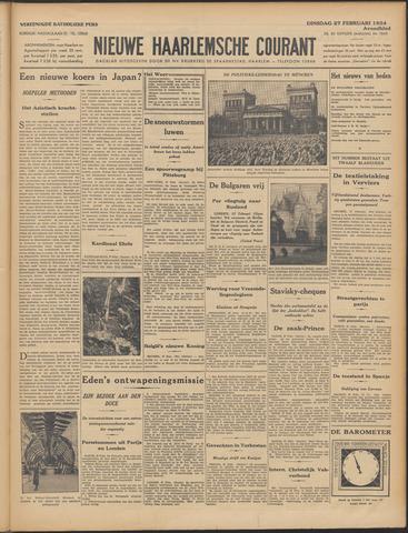 Nieuwe Haarlemsche Courant 1934-02-27