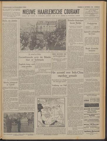 Nieuwe Haarlemsche Courant 1940-09-25