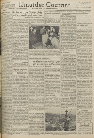 IJmuider Courant 1948-07-14