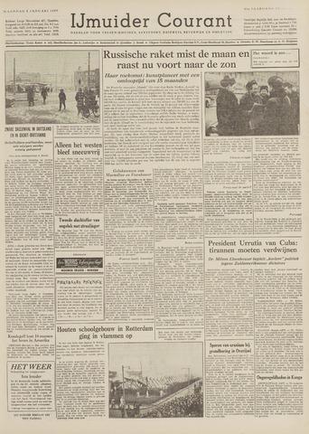 IJmuider Courant 1959-01-05