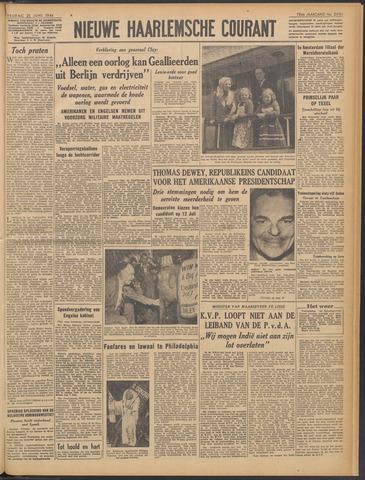 Nieuwe Haarlemsche Courant 1948-06-25