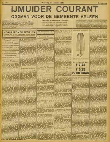 IJmuider Courant 1921-08-17
