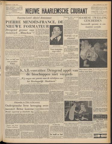 Nieuwe Haarlemsche Courant 1954-06-14