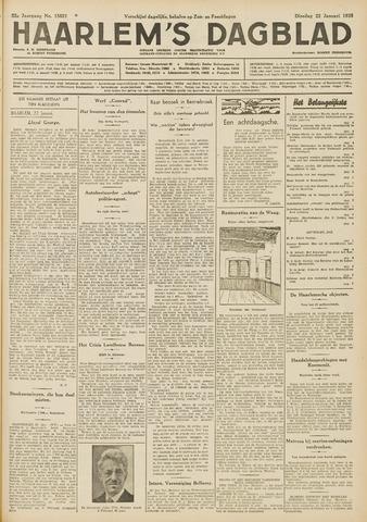 Haarlem's Dagblad 1935-01-22
