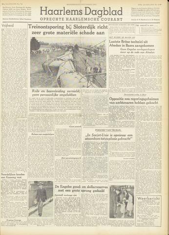 Haarlem's Dagblad 1951-10-04